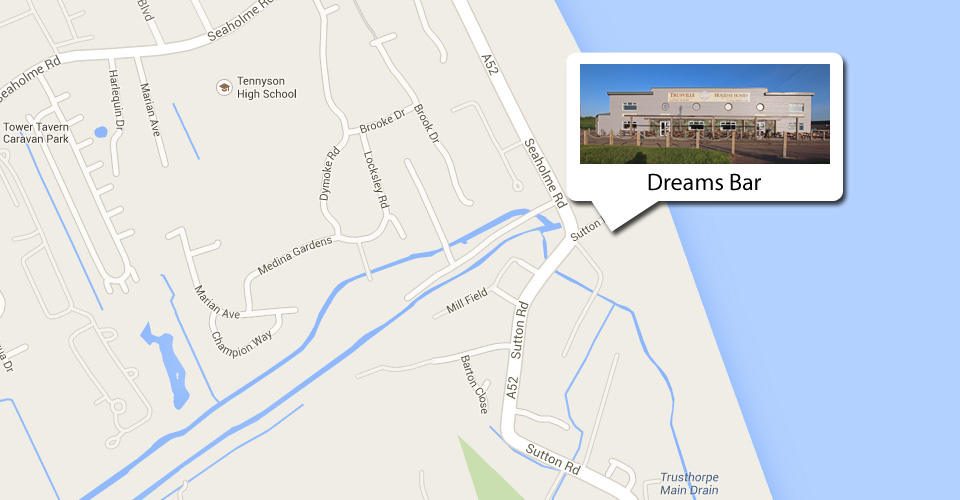 Click to see the Dreams Bar on Google Maps